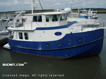 MIRAGE MANUFACTURING for sale picture - Trawler w/Raised Pilothouse