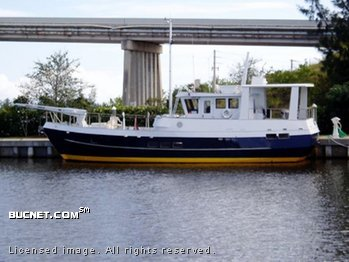 CUSTOM BUILT for sale picture - Trawler w/Raised Pilothouse