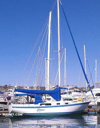 RON RAWSON for sale picture - Sail,Cruising-Aft Ckpt