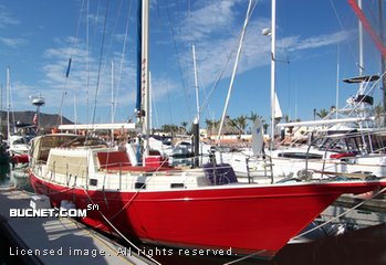 DOWN EAST YACHT for sale picture - Sail,Cruising-Plths-Aft Ckpt