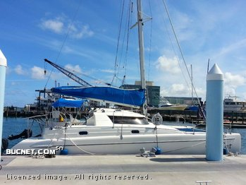 FOUNTAINE PAJOT for sale picture - Sail,Cruising-Aft Ckpt