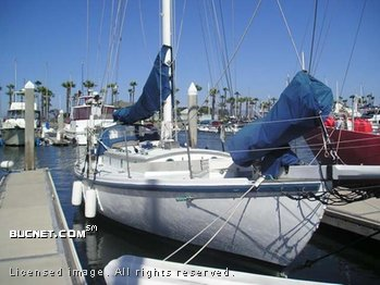 BLUE WATER for sale picture - Sail,Cruising-Aft Ckpt