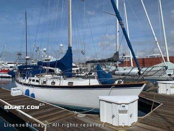 VAGABOND YACHT for sale picture - Sail,Cruising-Aft Ckpt