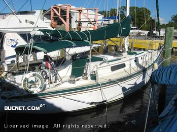 MORGAN MARINE for sale picture - Sail,Cruising-Aft Ckpt