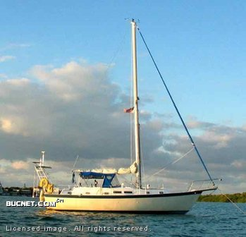 IRWIN YACHTS INTERNATIONAL for sale picture - Sail,Cruising-Aft Ckpt